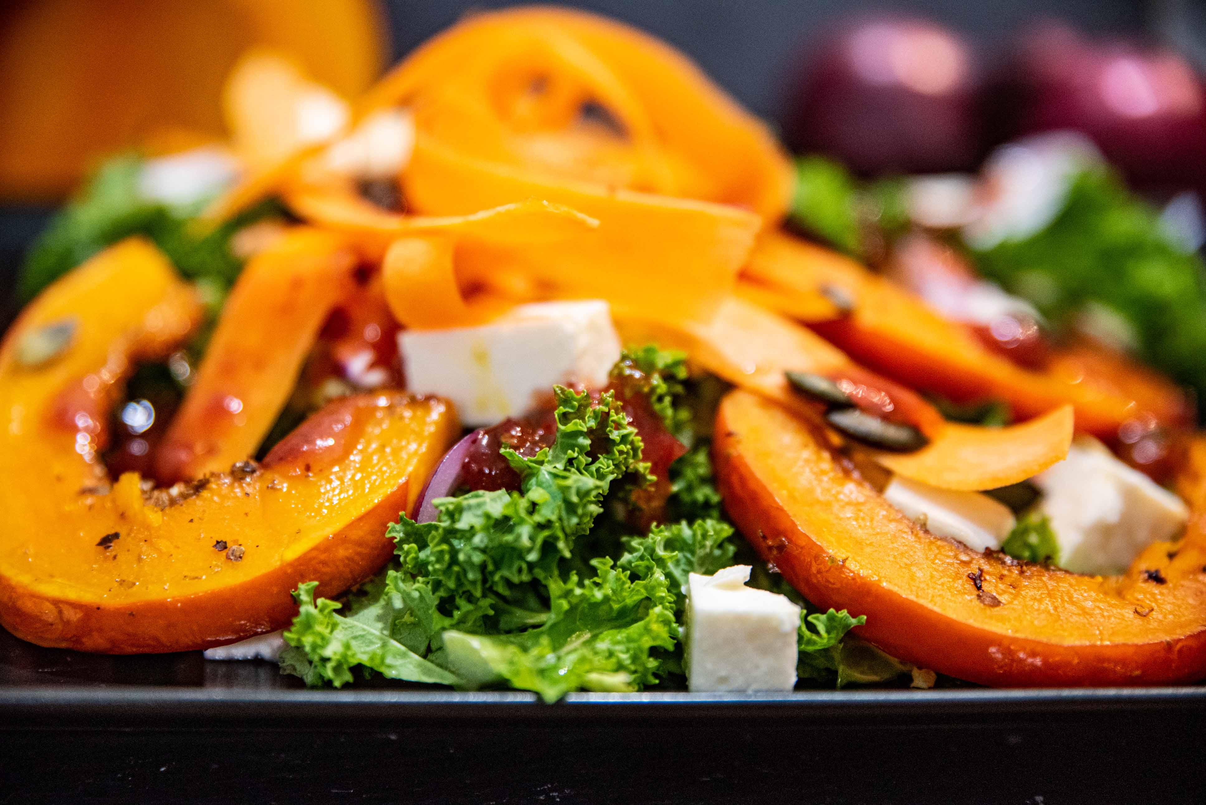 Zdravý zimní salát na doma idopráce